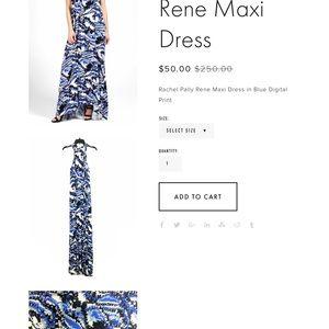 Rachel pally Rene maxi dress size large